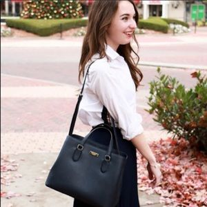 kate spade laurel way evangelie saffiano satchel